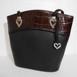 Brighton Vintage Two Tone Bucket Handbag